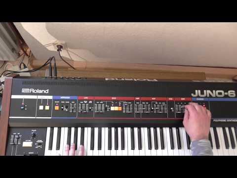 Roland Juno 6 Arpeggio Test