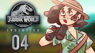 Jurassic World Evolution Gameplay   Part 4: Dangerous Dinos