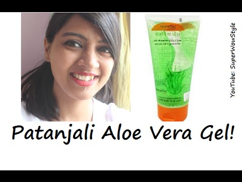 Patanjali Aloe Vera Gel For Face How To Actually Use Bridal Skin Care Series By Superwowstyle Youtube