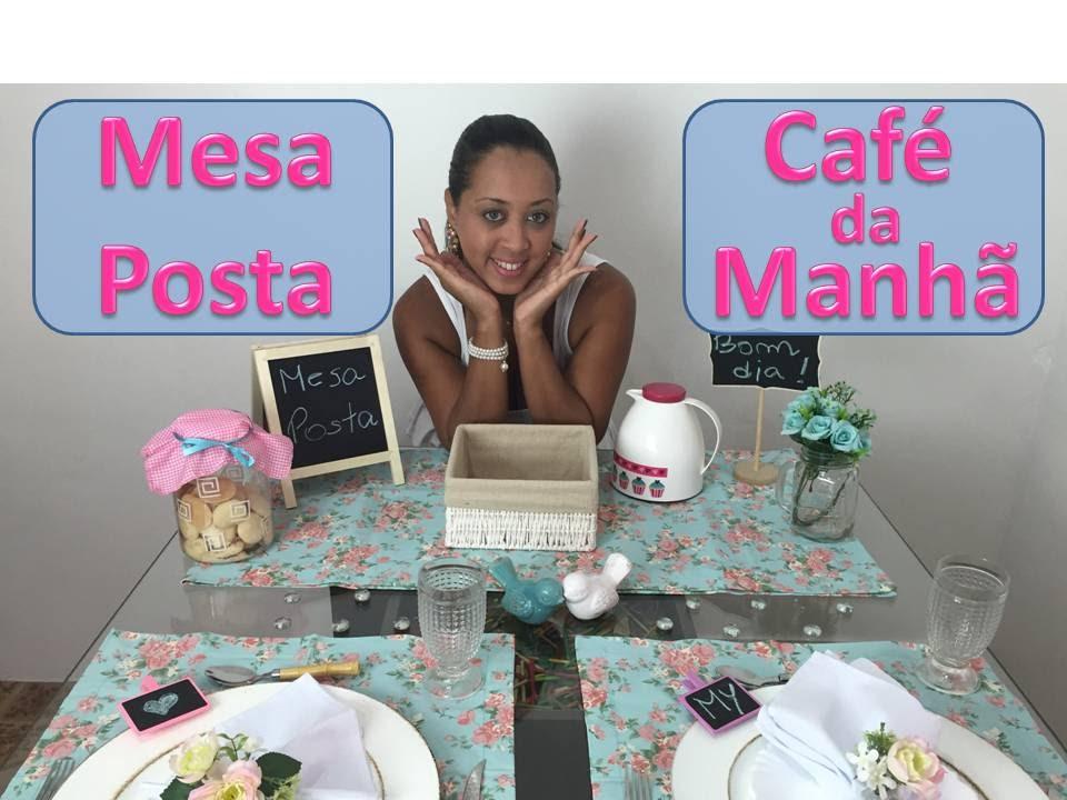 Mesa posta para caf da manh youtube for Modelos de mesas para cafeteria