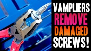 REMOVE DAMAGED SCREWS!! Vampliers (Made in Japan)