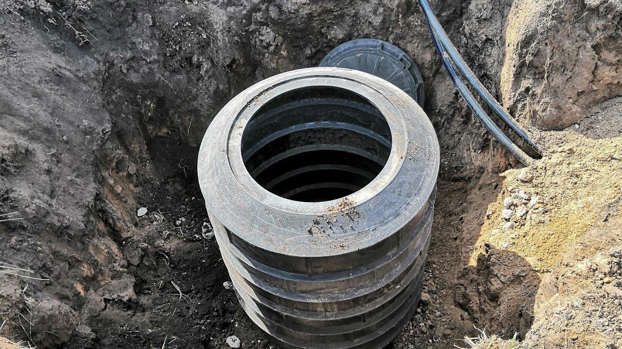 Колодец для врезки в центральное водоснабжение