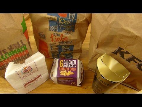 Big Nuggets Taste-Off - Burger King   McDonald's   Kentucky Fried Chicken