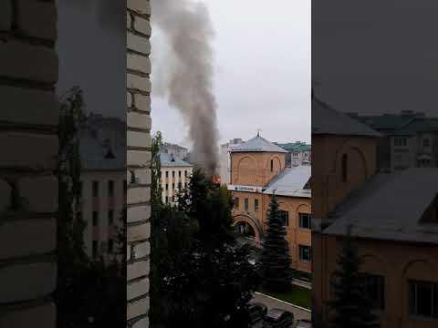 Пожар в Кольчугино