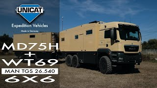 UNICAT Expedition Vehicles MD75HMB+WT69 - MAN TGS 26.540 6X6