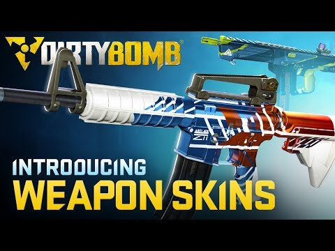 Dirty Bomb: Introducing Weapon Skins