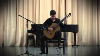 Tema e variações sobre um tema de Rossini (op. 101) - Mauro Giuliani