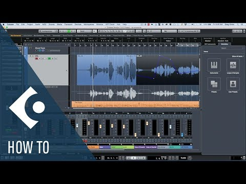 How to Adjust the Volume Pre-Mixer or Post-Mixer in Cubase | Q&A with Greg Ondo