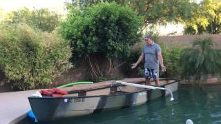 How to Put Outriggers on a Canoe