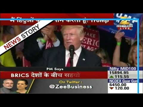 Donald Trump praises PM Modi in USA