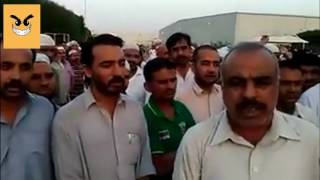 Baddest Condition of Pakistanis in Saudi Arabia - Protest