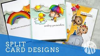 Split Card Designs