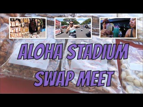 HAWAII 2017: ALOHA STADIUM SWAP MEET || LIANNA B