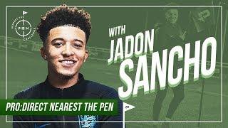 JADON SANCHO | Pro:Direct Nearest The Pen Challenge