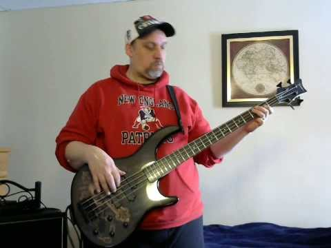 Bass Cover of December Collective Soul. in HD.