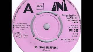 so long marianne bryan hyland