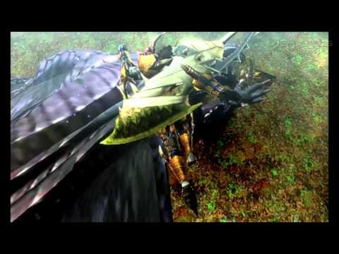 Monster Hunter 4 - Trailer oficial #4 (Japón)