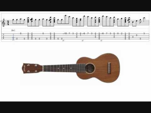 Happy Birthday Ukulele tutorial ;-) ...with tabs - YouTube