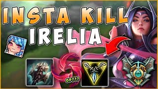 NEW HAIL OF BLADES IRELIA IS TOO STRONG! INSTANT ONE SHOTS - League of Legends