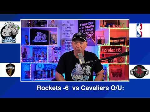 Houston Rockets vs Cleveland Cavaliers 3/1/21 Free NBA Pick and Prediction NBA Betting Tips