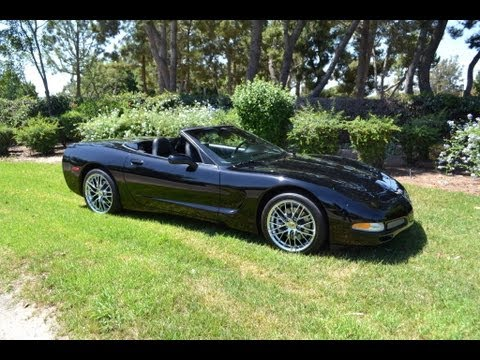 sold 2004 black corvette convertible for sale by. Black Bedroom Furniture Sets. Home Design Ideas