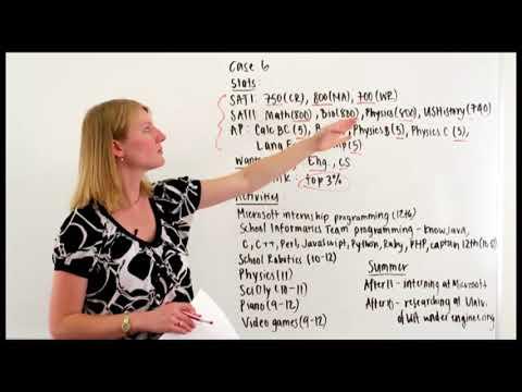 Erinn Andrews, Former Stanford Admissions Officer, Video Case Study #6