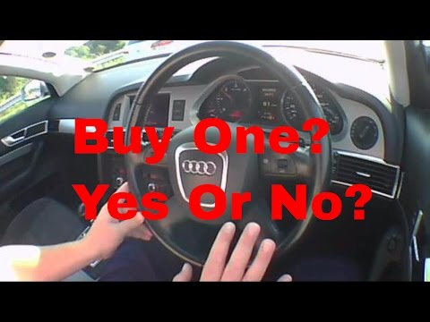 AUDI A6 SE TDI 2008 - Secondhand Auto Buyers Motoring Video Insurance Against Buying A Wrong Car.