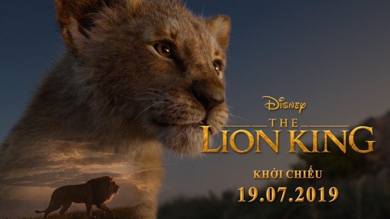 LION KING - VUA SƯ TỬ - Trailer chính thức