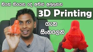 සිංහල Geek Show - What is 3D Printing and how 3D Printer work Explained in Sinhala Sri Lanka(හිතේ තියෙන හැමදේම 3D නිර්මාණය කළ හැකි 3D Printing ගැන සිංහලෙන් - What is 3D Printing and how does it work Explained..., 2016-08-16T13:32:14.000Z)