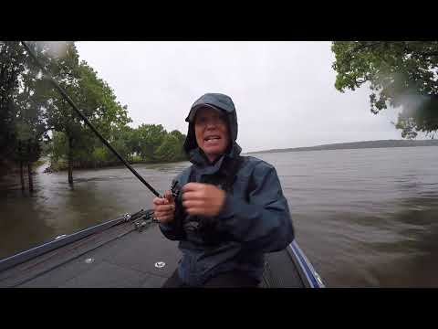 Joe Bass Team Trail On Flooded Truman Lake 6-23-19