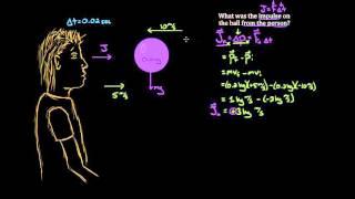 Impulse and momentum dodgeball example