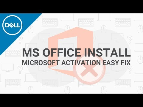 MS Office Product Activation Issues (Official Dell Tech Support).mp4