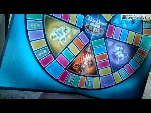 Shadow Garth's Board Game Reviews - Series 1: Trivial Pursuit DVD Pop Culture Part 1: The Board