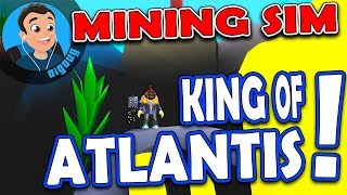 Ok yeah Atlantis is OP!!! Roblox Mining Simulator Atlantis!