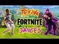 African Tries Fortnite Dances For The First Time | SOUTH AFRICAN YOUTUBER
