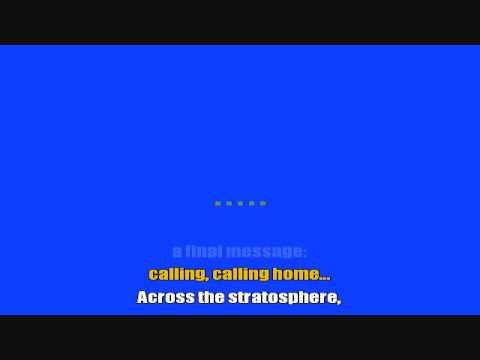 Major Tom Coming Home - Peter Schilling