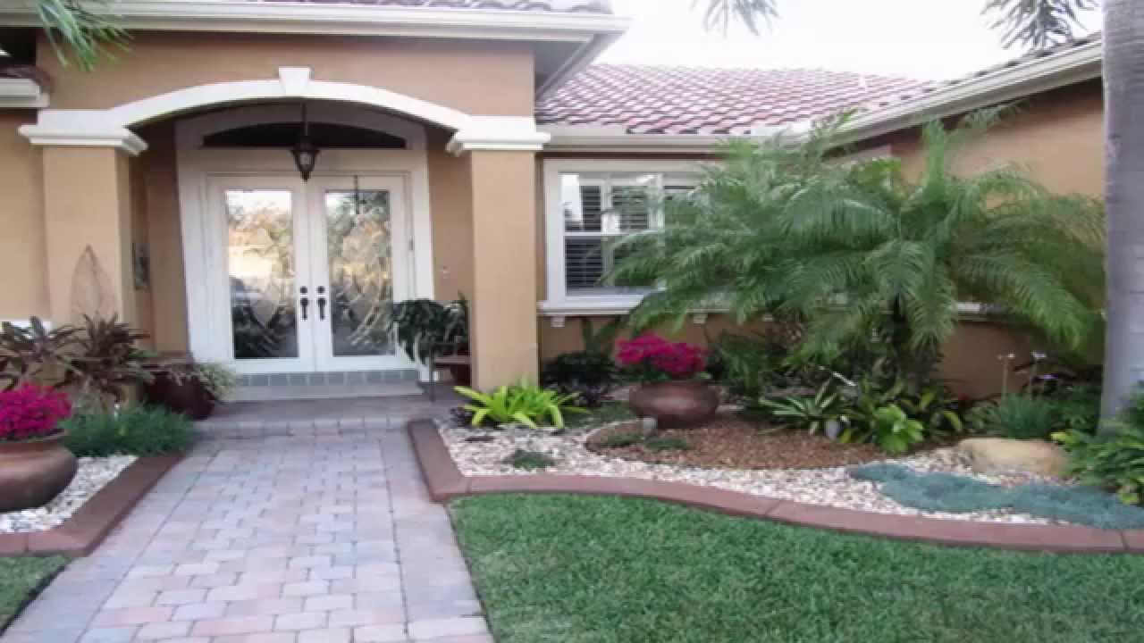 Landscaping Ideas *Front Garden Landscape Ideas* - YouTube on Backyard Lawn Designs  id=14012