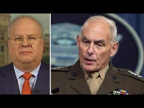 Too many generals? Rove blasts critics of Trump