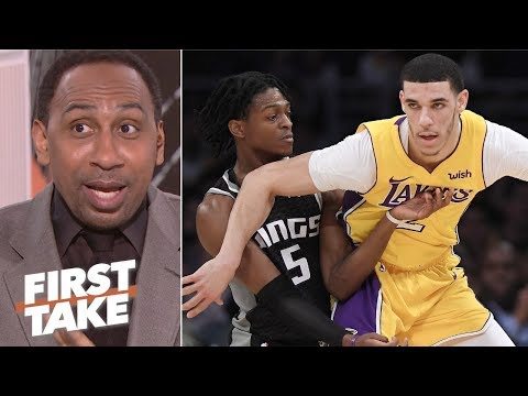 Lonzo Ball needs to be more like De鈥橝aron Fox - Stephen A. | First Take