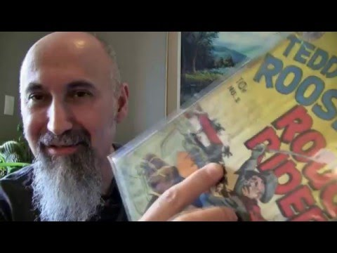 Comic Book Haul, Set #4: Golden Age Books -- ASMR -- Male, Clicking, Soft-Spoken, Show and Tell