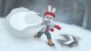 CS:GO - Лови снежок