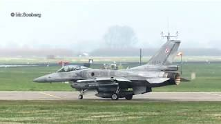 F16 's POLISH AF,  FRISIAN FLAG 2018, Afternoon Flights at Leeuwarden AB