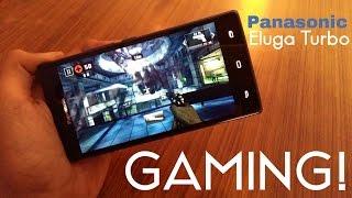 Panasonic Eluga Turbo Gaming Review with Heavy Games