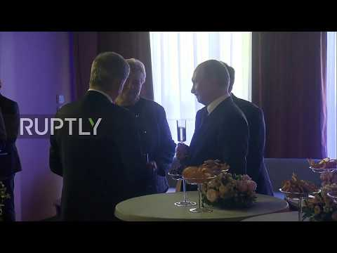 Russia: Putin and Nordic leaders attend working lunch at International Arctic Forum