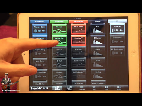 eventide h9 harmoniser inside and out review youtube. Black Bedroom Furniture Sets. Home Design Ideas