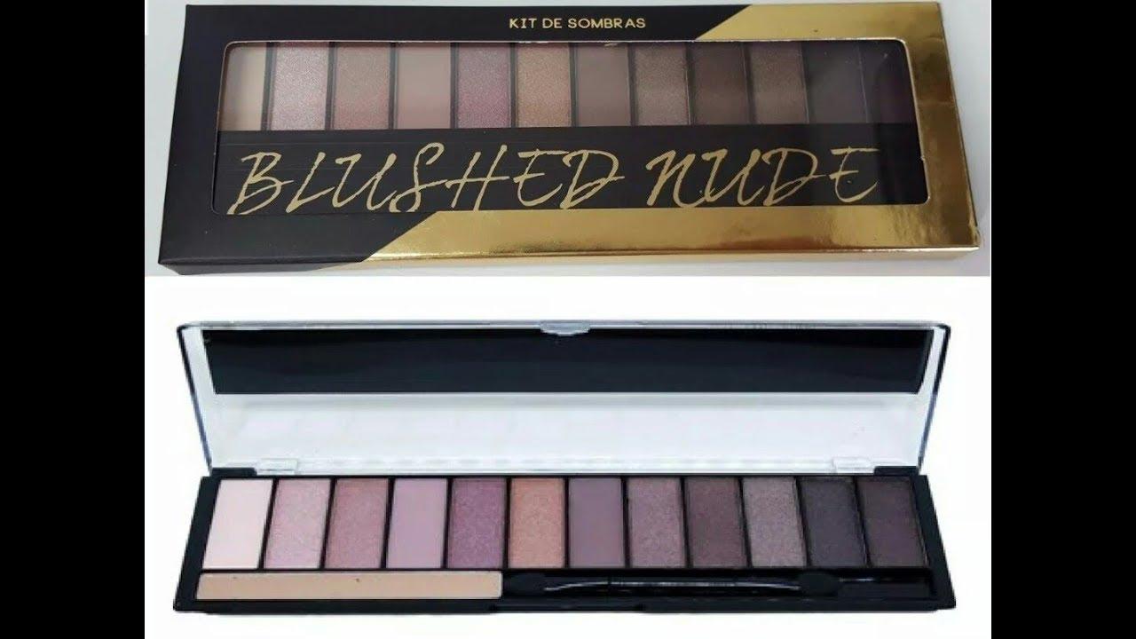 Paleta Sombra NUDE Ruby Rose HB-9911 - Velveti Maquiagem