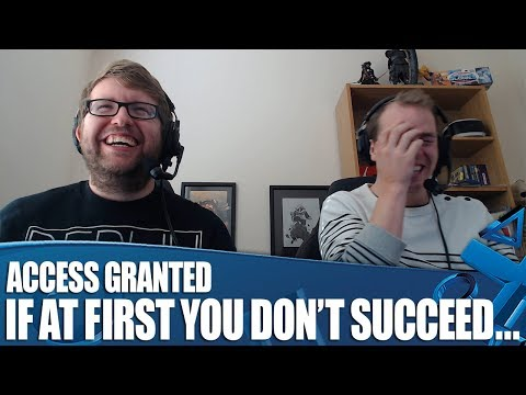 Access Granted - Rugby 18! If At First You Don't Succeed...