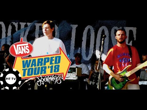 Knocked Loose- Billy No Mates//All My Friends LIVE (2018 Vans Warped Tour)
