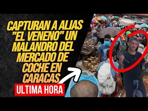 CARACAS HOY: CICPC DETIENE A DELINCUENTE QUE TENÍA A MONTE A COMERCIANTES DEL MERCADO DE COCHE