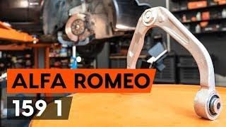 Kuinka vaihtaa etualatukivarsi / etutukivarsi ALFA ROMEO 159 1 (939) -merkkiseen autoon [AUTODOC]